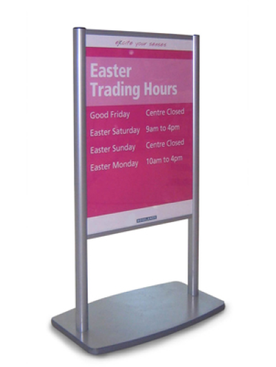 Shop The Mall FSPU Poster Stands Stunning Poster Display Stands Rental